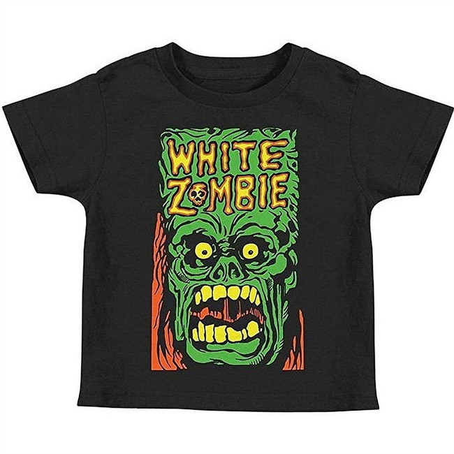 White Zombie Monster Yell Toddler T-Shirt