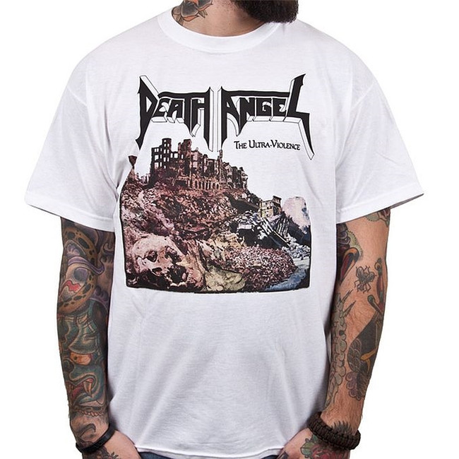 Death Angel The Ultra-Violence White T-Shirt