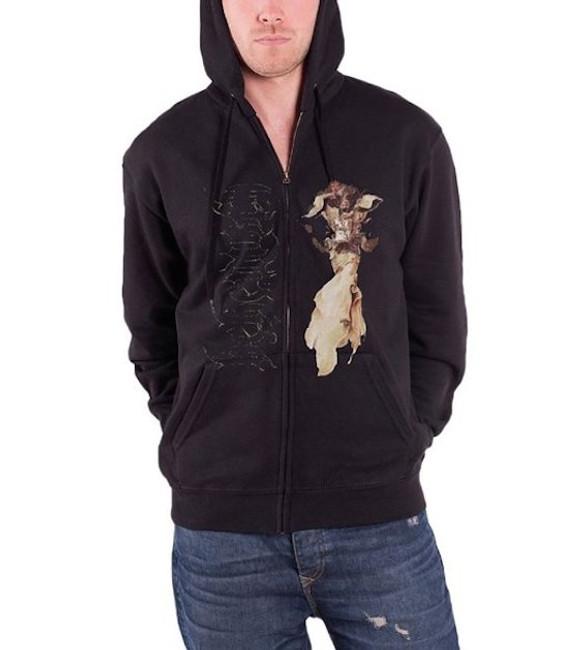 Behemoth Angel Zip Hoodie Sweatshirt