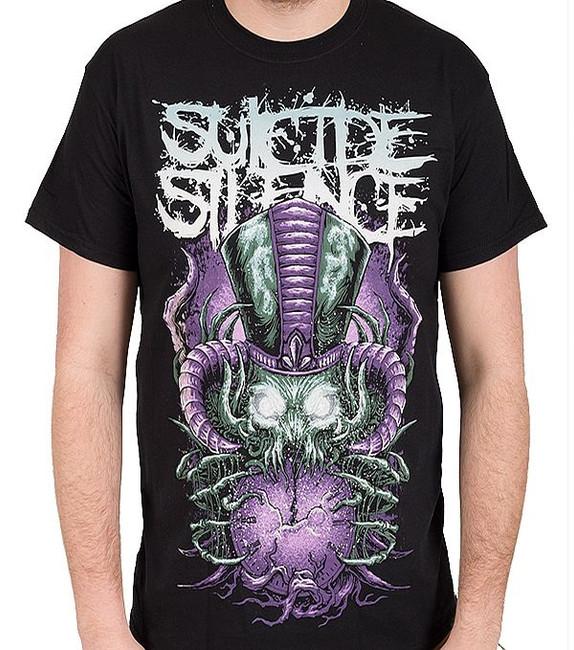 Suicide Silence Purple Time Stealer Lightweight T-Shirt