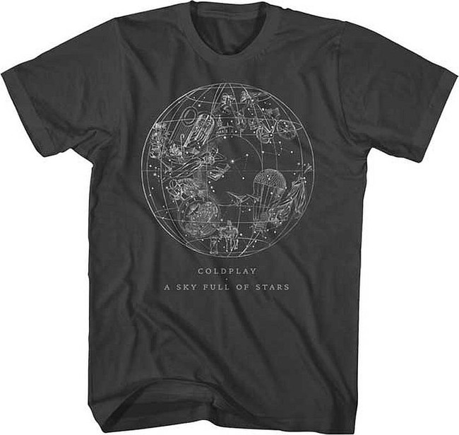 Coldplay Sky Full of Stars Soft T-Shirt