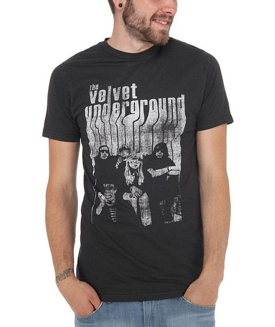 Velvet Underground Band With Nico Fitted T-Shirt