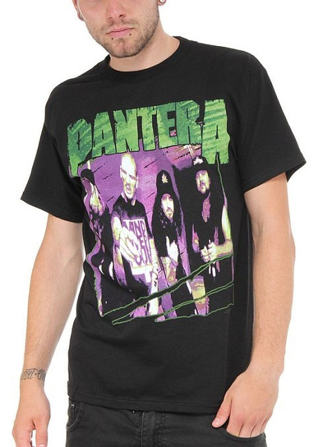 Pantera Group Sketch T-Shirt
