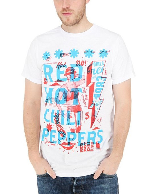 Red Hot Chili Peppers - Multiply T-Shirt