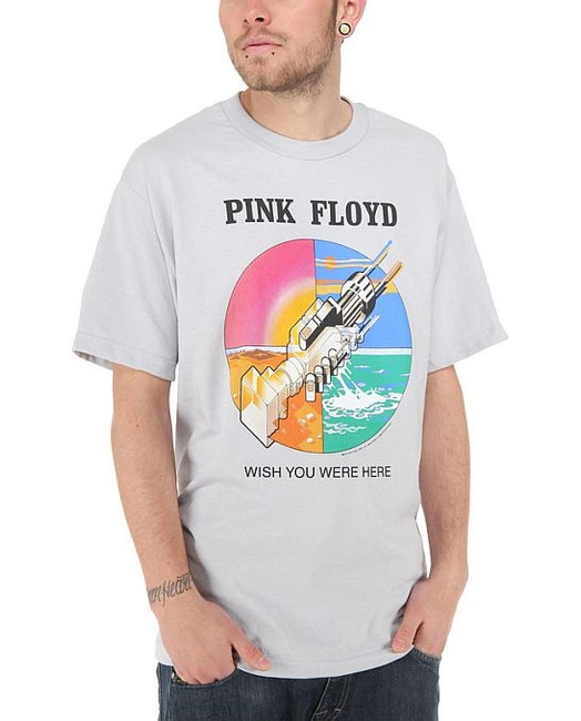 Pink Floyd Wish You Were Here Silver T-Shirt