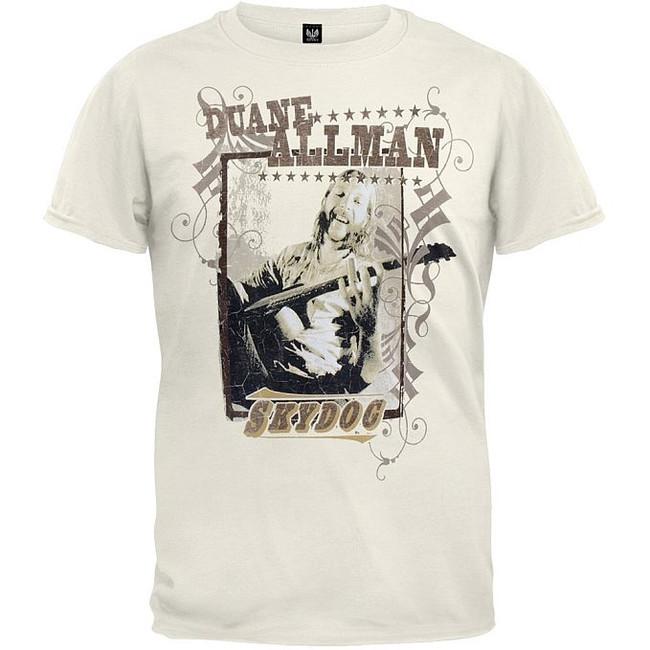 Duane Allman Sky Dog T-Shirt Allman Brothers
