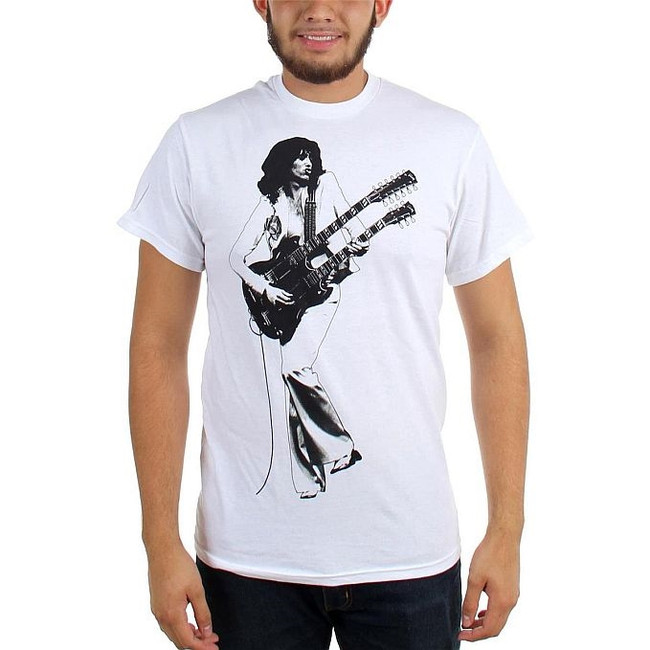 Jimmy Page Double Guitar Shirt