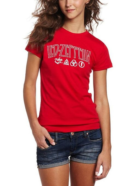 Led Zeppelin All My Love Junior Women's T-Shirt