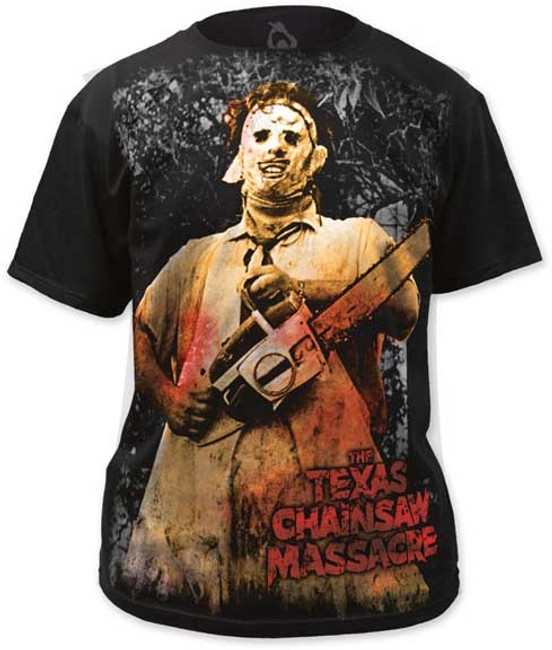 Texas Chainsaw Massacre Color Fitted Subway T-Shirt