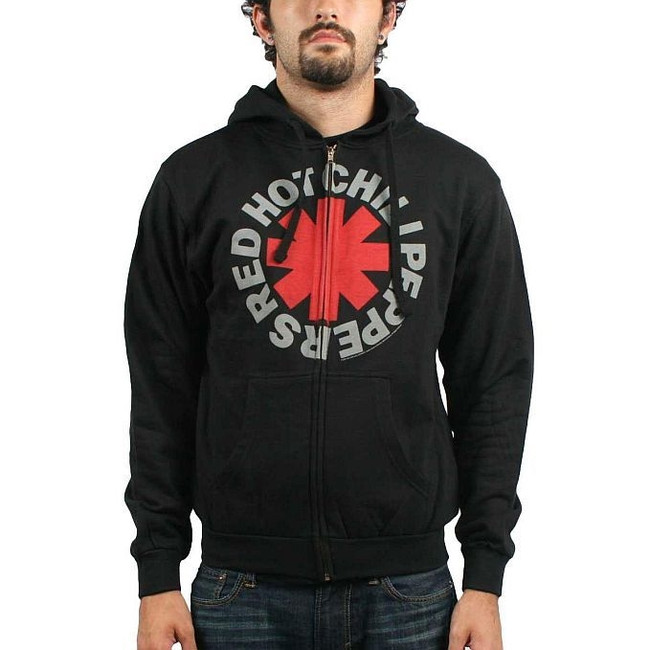 Red Hot Chili Peppers - Asterisk Zip Hoodie Sweatshirt