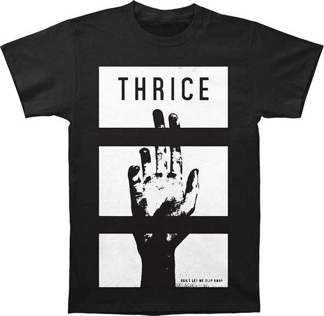 Thrice Slip Away Men's Black T-Shirt