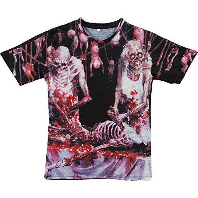 Cannibal Corpse Butchered at Birth All Over T-Shirt