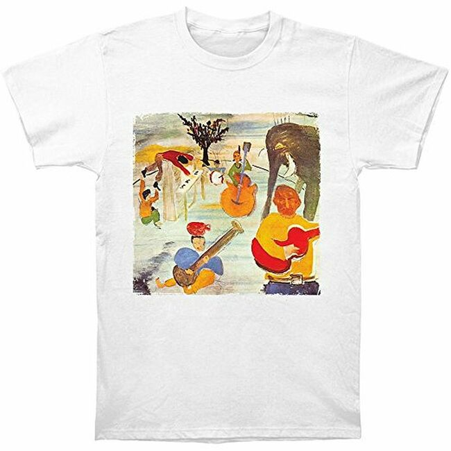 The Band Big Pink Men's Fitted T-Shirt