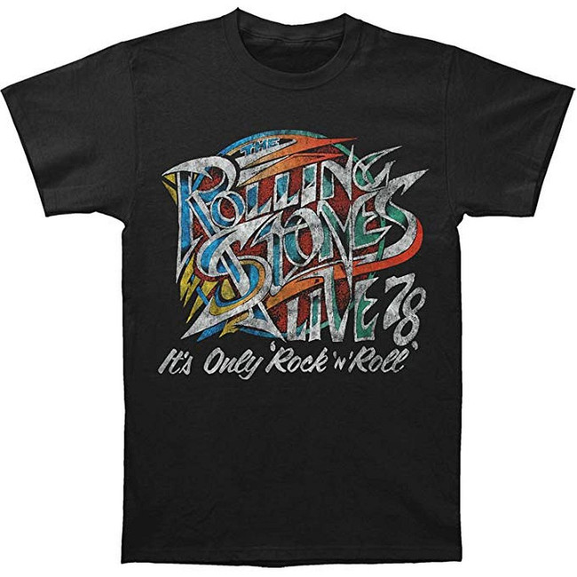 Rolling Stones 78 Rock and Roll T-Shirt