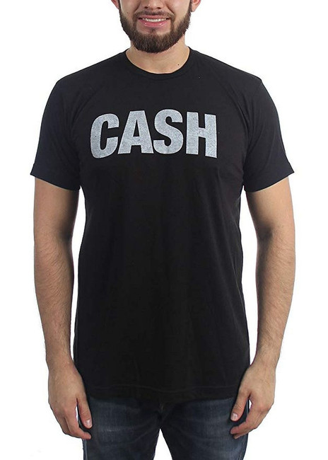 Johnny Cash Faded Logo Lightweight T-Shirt