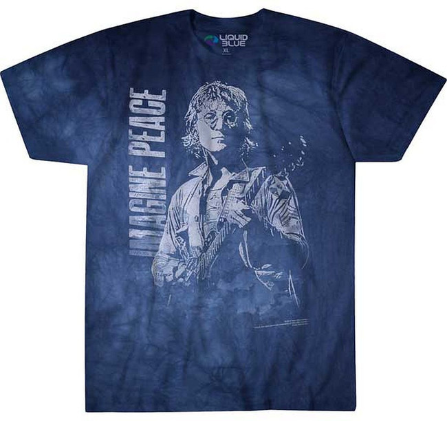 John Lennon Beatles Imagine Peace Tie Dye T-Shirt