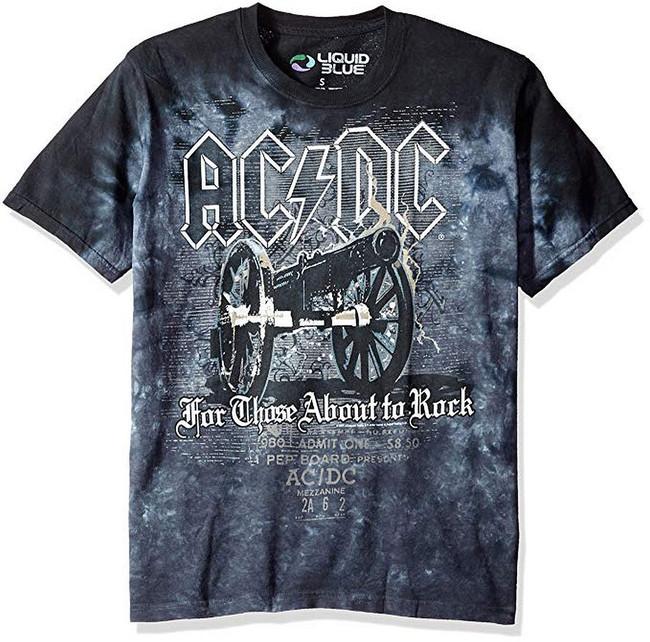 AC/DC Cannon Tie Dye T-Shirt