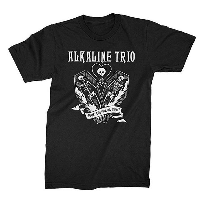 Alkaline Trio Your Coffin Men's T-Shirt
