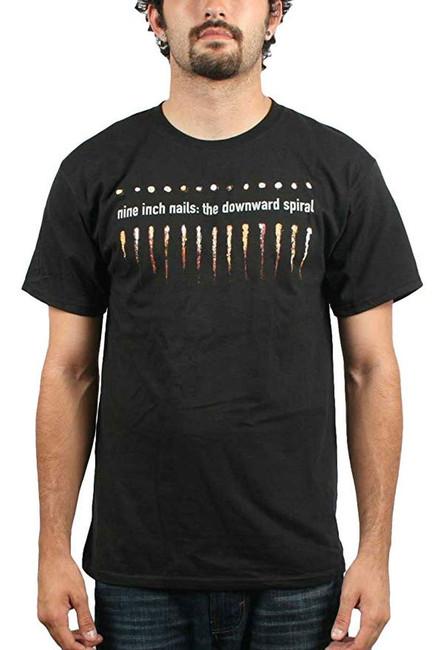 Nine Inch Nails Salt and Teeth Spiral Slim T-Shirt