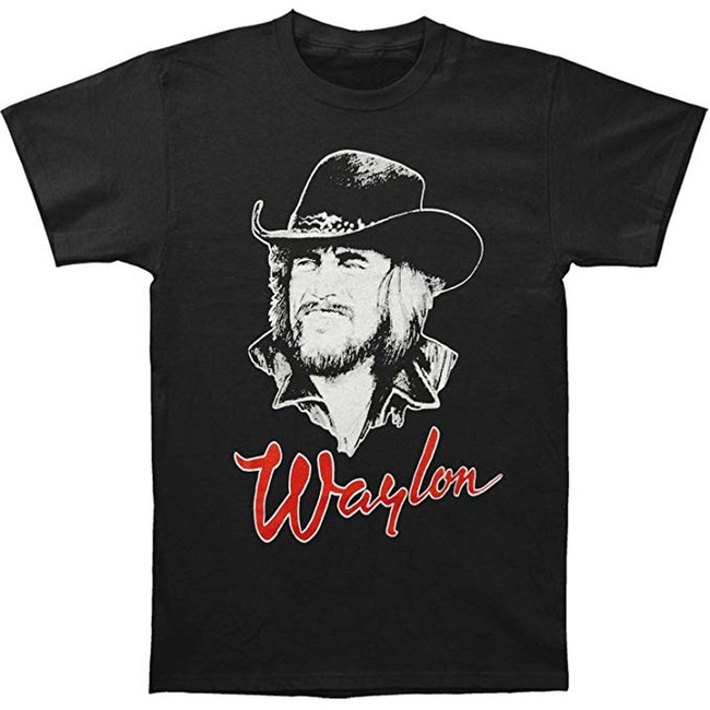 Waylon Jennings Draw 84 T-Shirt