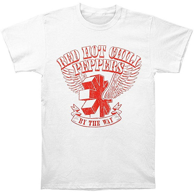 Red Hot Chili Peppers By The Way Vintage Men's T-Shirt