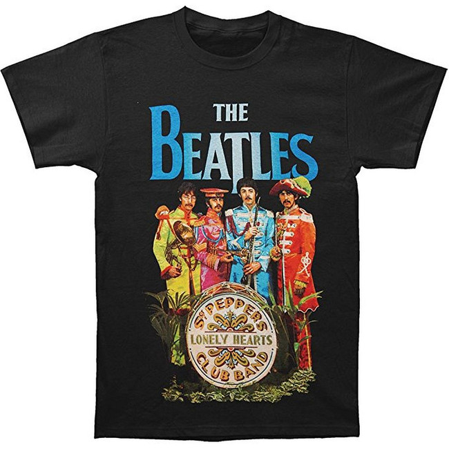 The Beatles Sgt. Pepper's Characters Men's T-Shirt