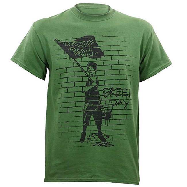 Green Day Flag Boy Men's T-Shirt
