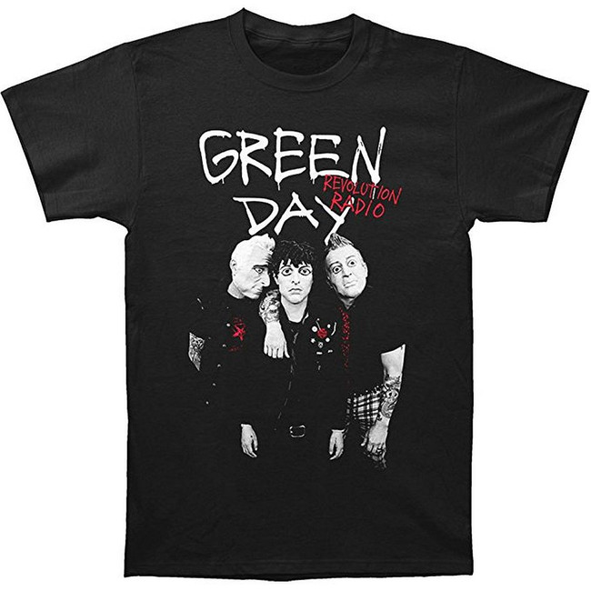 Green Day Red Hot Men's T-Shirt