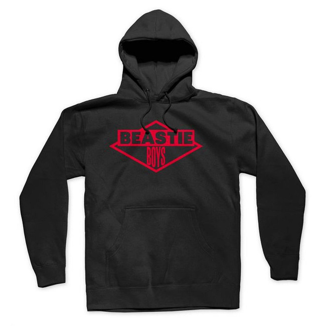 Beastie Boys Red Logo Pullover Hoodie Sweatshirt