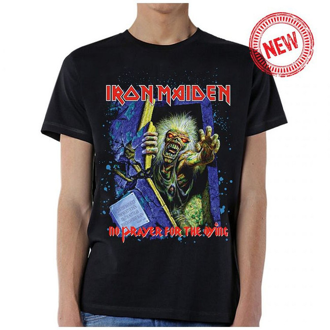 Iron Maiden No Prayer Splatter T-Shirt