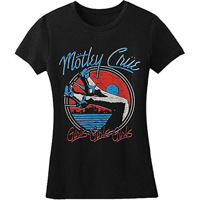Motley Crue Heels V3 Junior Women's T-Shirt