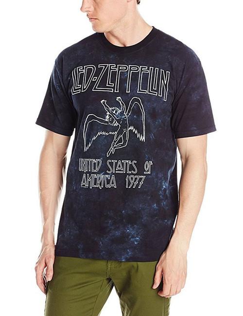 Led Zeppelin USA Tour 77 Tie Dye T-Shirt