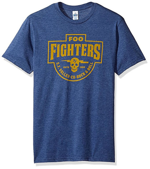 Foo Fighters S.F. Valley Skull Lightweight T-Shirt
