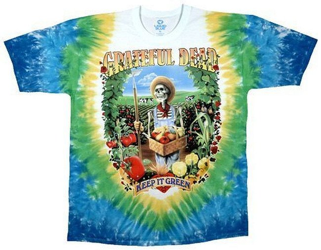 Grateful Dead Let It Grow Tie-Dye T-Shirt