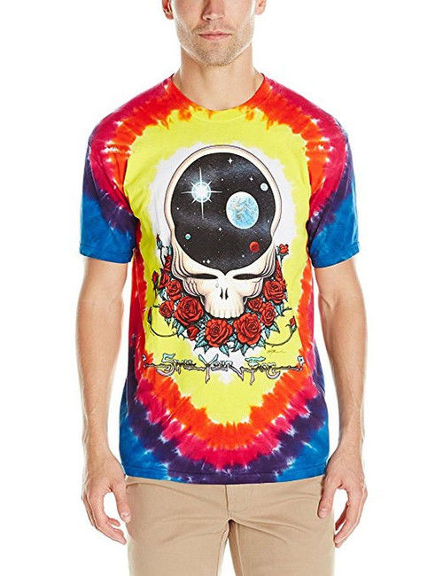 Grateful Dead Space Your Face Tie-Dye T-Shirt