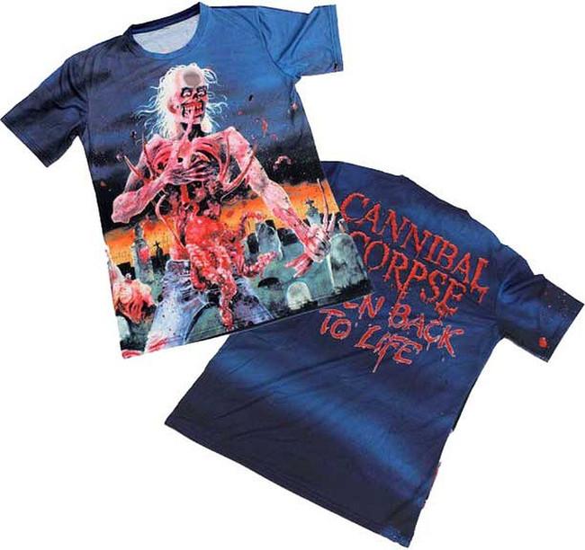 Cannibal Corpse Eaten Back All Over T-Shirt