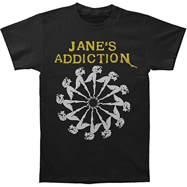 Jane's Addiction Lady Wheel Slim T-Shirt