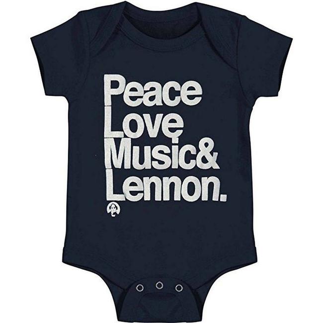 John Lennon The Beatles Ampersand Infant Baby Romper T-Shirt