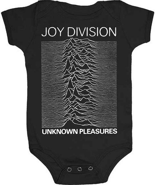 Joy Division Unknown Pleasures Infant Baby Romper T-Shirt