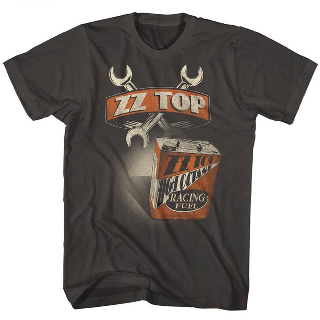 ZZ Top High Octanemoke Adult T-Shirt
