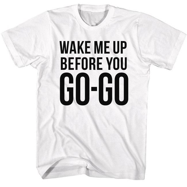 Wham Go Go White Adult T-Shirt