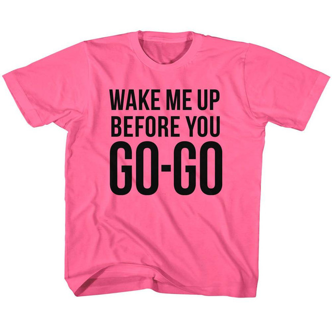 Wham Go Go Hot Pink Children's T-Shirt