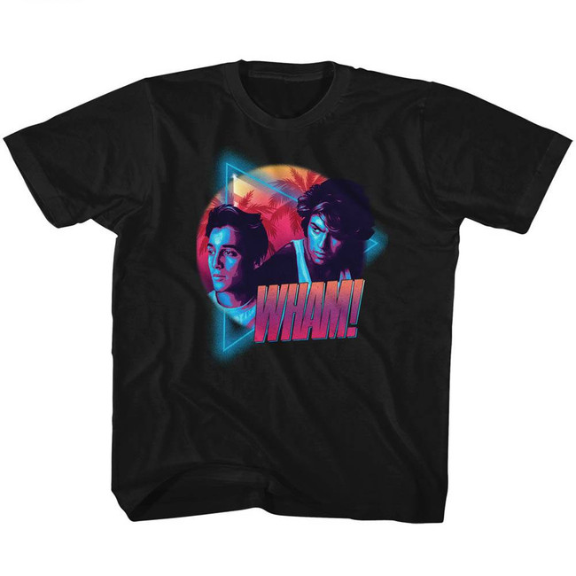 Wham Mi Wham I Vice Black Children's T-Shirt