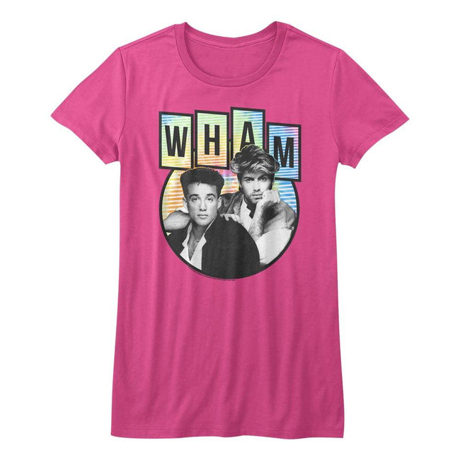 Wham Tidedyepod Fuschia Junior Women's T-Shirt