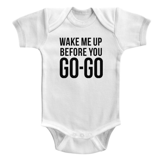 Wham Go Go White Infant Baby Onesie T-Shirt