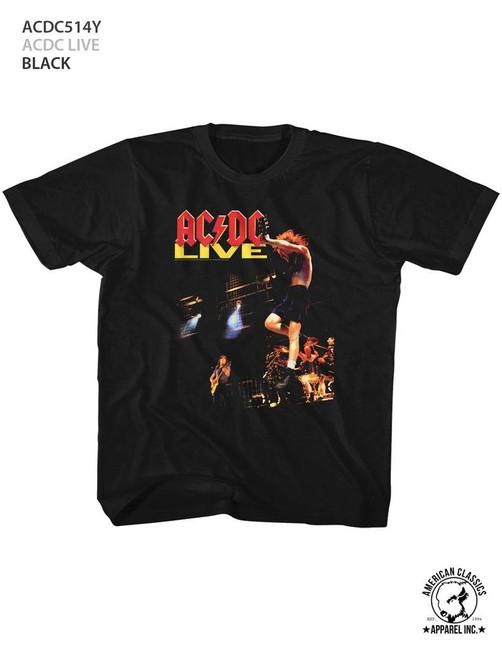 AC/DC Live Black Children's T-Shirt