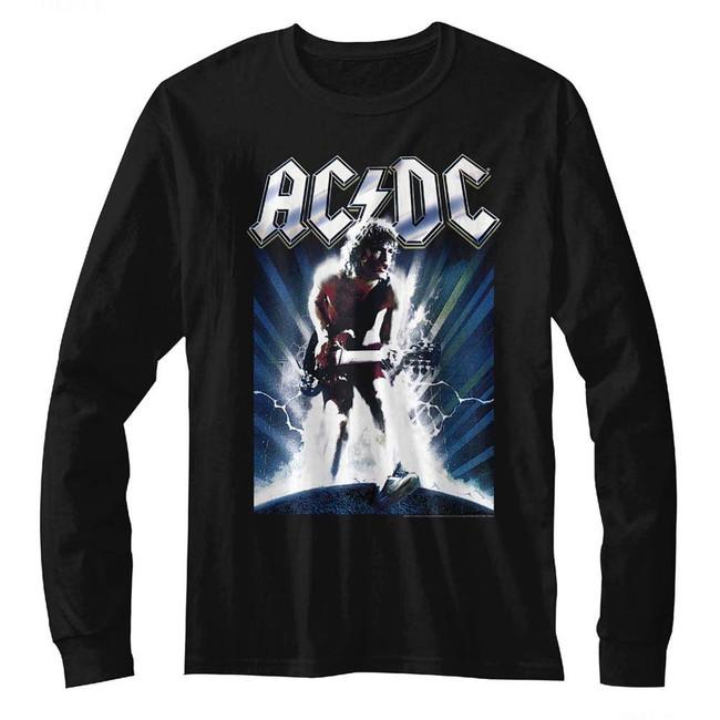AC/DC Black Adult Ballbreaker Long Sleeve T-Shirt