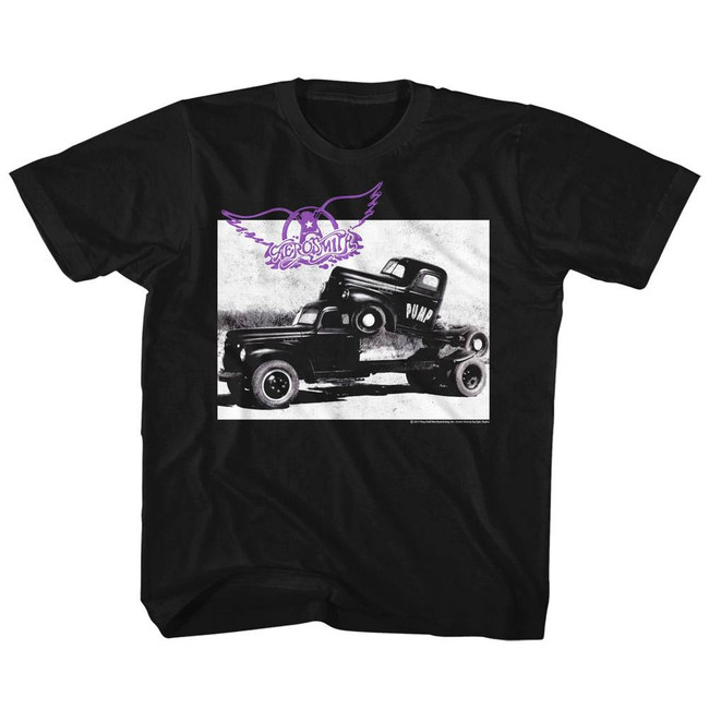 Aerosmith Pump Black Children's T-Shirt