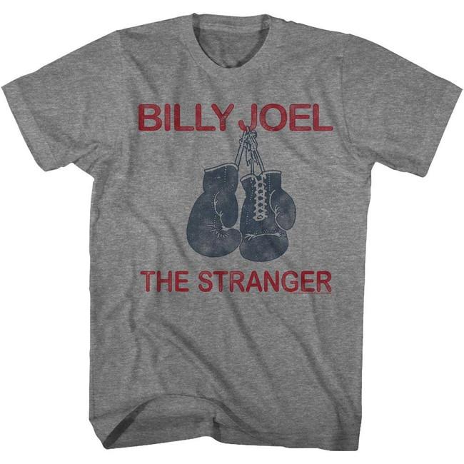 Billy Joel The Stranger Heather Adult T-Shirt