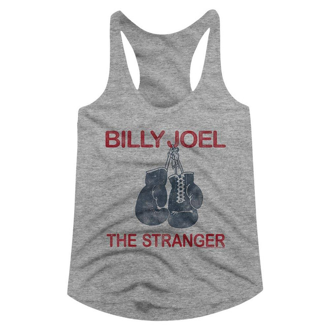 Billy Joel The Stranger Heather Junior Women's Racerback Tank Top T-Shirt